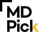 MD Pick 로고