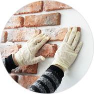 의뢰로 간단한 파벽돌 시공하기!